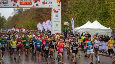 16,000 Runners Complete the Royal Parks Half Marathon